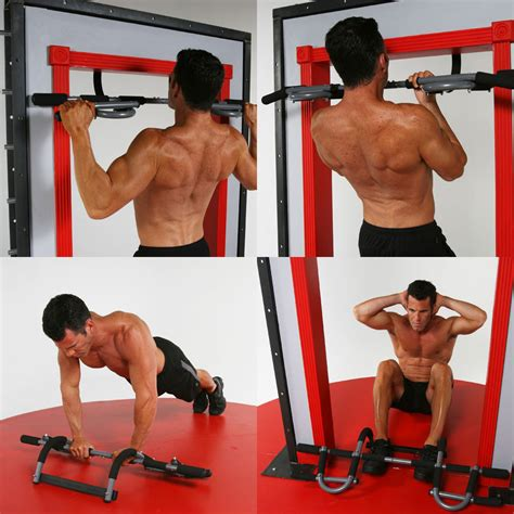 portable chin up workout bar home door pull up abs