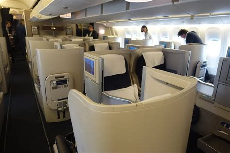 777 cabin layout airways business class review frugal class