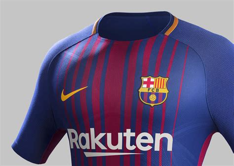 Jersey Original Fc Barcelona Home Season 20152017 fc barcelona home kit 2017 18 nike news