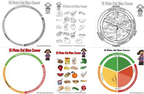 imagenes para colorear plato del buen comer dibujo del plato del buen comer para colorear imagui