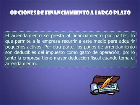 deduccion fiscal empresa de arrendamiento las opciones de la empresa powerpoint p 225 gina 2