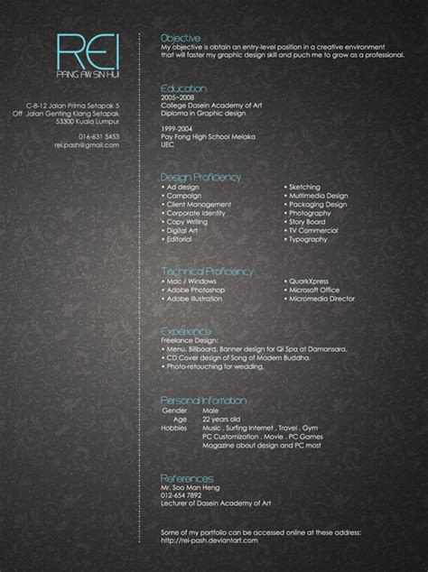Resume Design Inspiration by 30 Cv Resume Design Inspiration Web3mantra