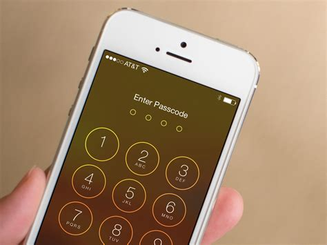 set password on iphone how to secure your iphone or with a 4 digit passcode imore
