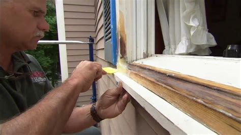 how to repair house windows how to fix rotted wood with epoxy this old house youtube