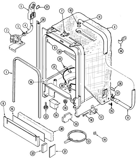 jenn air dishwasher parts diagram 301 moved permanently
