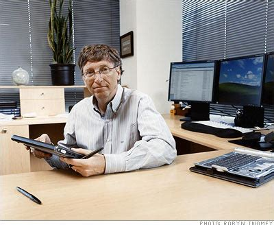 inside bill gates office: workstyle of the wealthiest man
