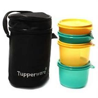Insulated Bowl 500 Ml Tupperware shop tupperware executive lunch box with insulated bag 4 bowls black bag shopclues