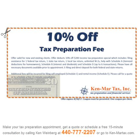 tax preparation tax services cleveland tax preparation coupon for 2016