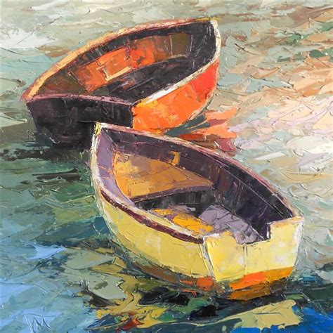 boat oil painting buy original art by kim mcaninch oil painting boat 23