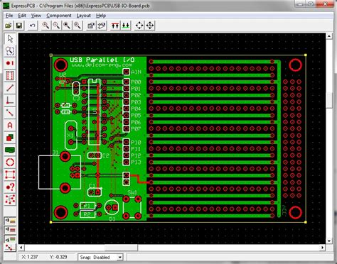 express pcb electronic circuit