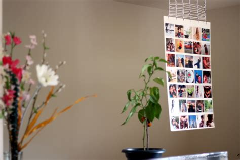 how to make a photo wall collage 32 photo collage diys for a more beautiful home
