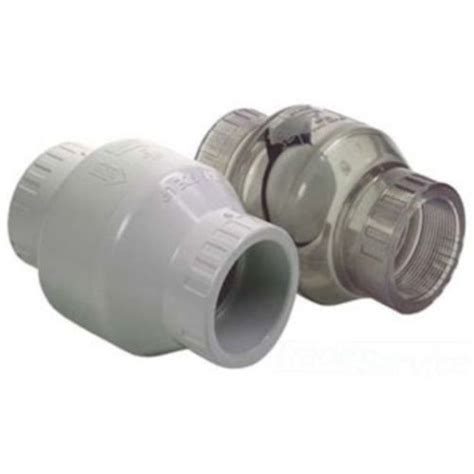 spears swing check valve spears s1520 15 1 1 2 quot pvc utility swing check valve
