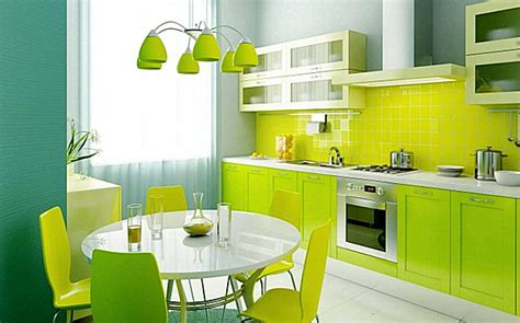 Lime Green Kitchen Ideas | shades of green a verdant spring decorating palette