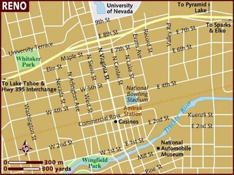 reno map map of reno