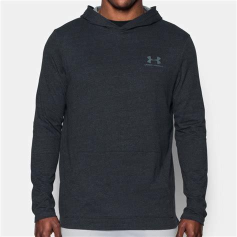 Sweater Jaket Zipper Hoodie Armour Athleticsgray armour triblend mens grey hoody sleeve hoodie hooded sports top