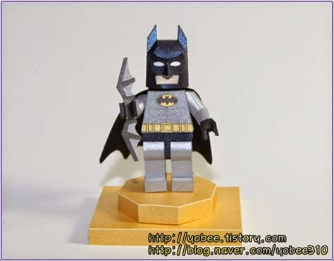 Batman Papercraft - yobee s lego mini figure paper craft lego batman