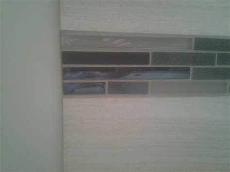 mosaic tile around bathtub finishing edges around mosaic wall tile page 2 tiling contractor talk