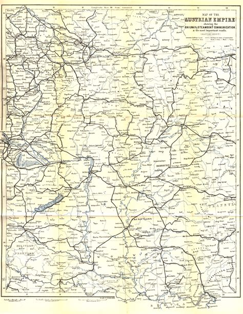 map of southern germany and austria electronic text archive