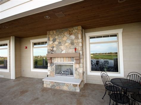 Sided Gas Fireplace Indoor Outdoor by Indoor Outdoor Fireplace Sided Home Decorating Ideas