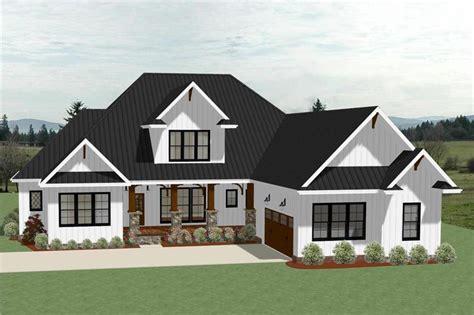 house plans country farmhouse 2018 farmhouse house plan 4 bedrms 3 5 baths 3390 sq ft 189 1104