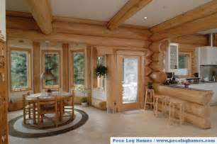 log homes interior pictures peco log homes log home pictures