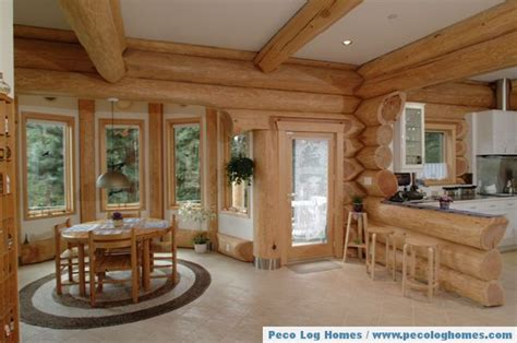 log homes interiors peco log homes log home pictures