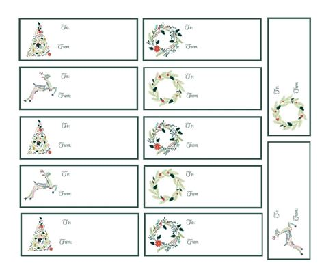 printable christmas labels for presents 40 unique printable christmas gift tags kitty baby love