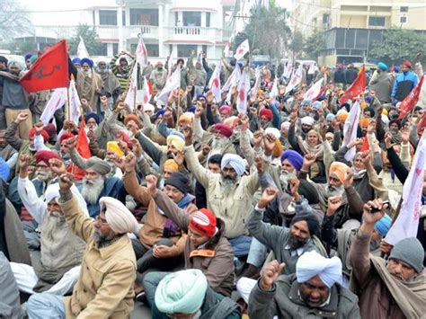 bbmb recuruitment 2015 advt for 267 vacancies bbmb bhakhra beas management board labourers hold rally