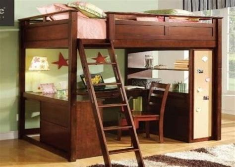 full size bunk bed with desk full size loft bed plans loft bed computer desk full