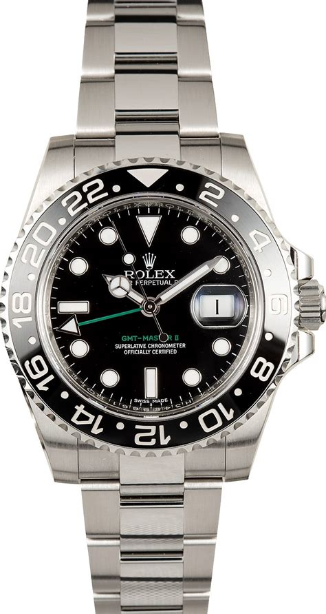 Rolex Gmt Master Ii As rolex oyster perpetual ceramic gmt master ii 116710