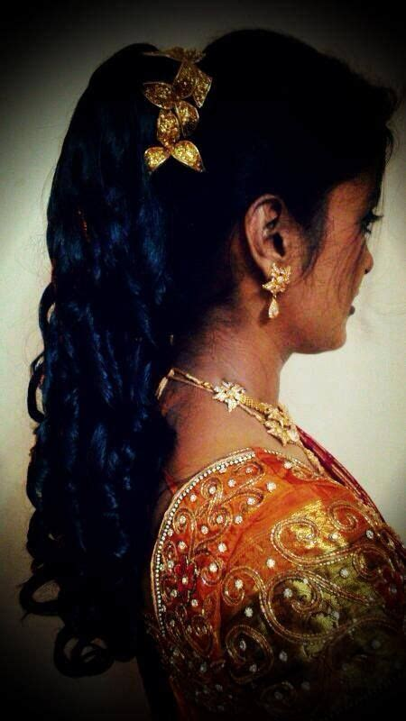 bridal hairstyles for reception in chennai south indian bridal reception hairstyle indian bridal