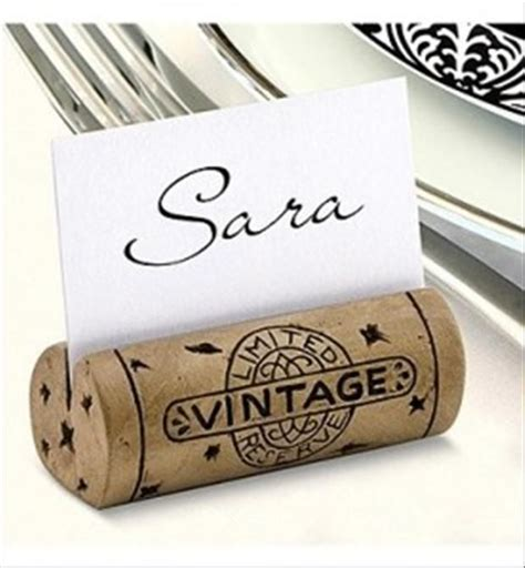 4 pc wine bottle cork placecard holders set w place cards do it yourself crafts with wine corks 40 pics crafty