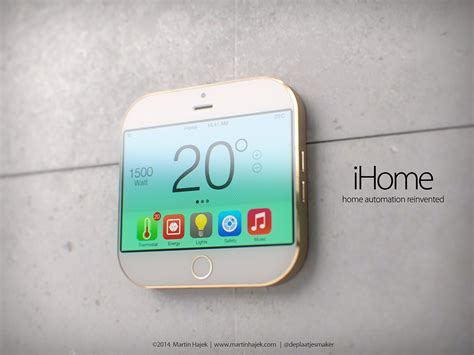 Home Automation Apple apple ihome concept deals with home automation in small sizes concept phones