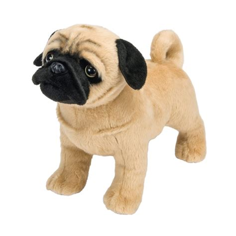 pug soft cooper the standing pug soft toys uk