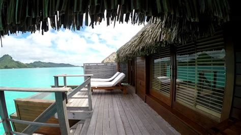 overwater bungalow max martine four seasons bora bora over water bungalow room tour youtube