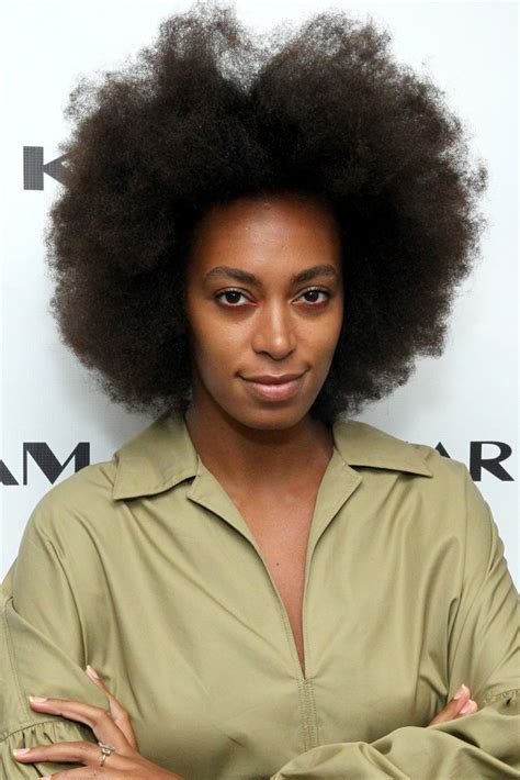 mini afro for women solange knowles photos photos karigam backstage