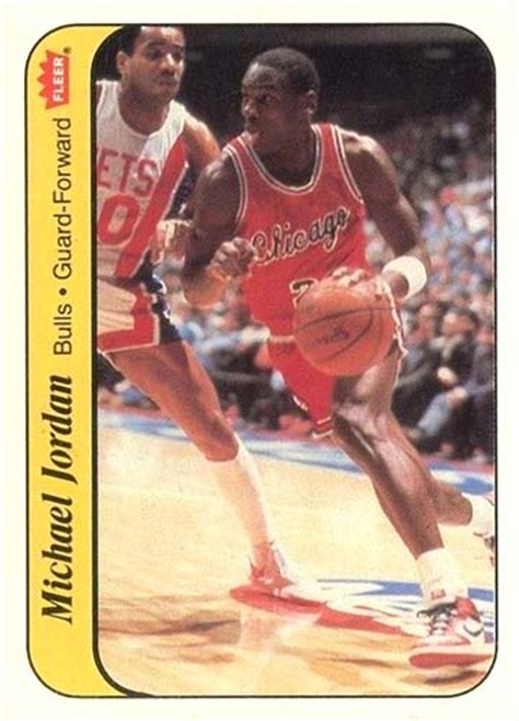 86 87 fleer basketball card template photoshop own cards featuring michael s 4 different jersey