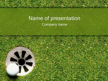 Powerpoint Templates Golf Themes Images Powerpoint Template And Layout Golf Powerpoint Template