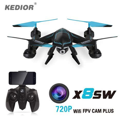 Drone Kamera Hd x8sw wifi fpv drone with hd rc helicopter