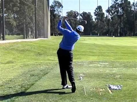 ernie els iron swing ernie els golf swing 2013 youtube
