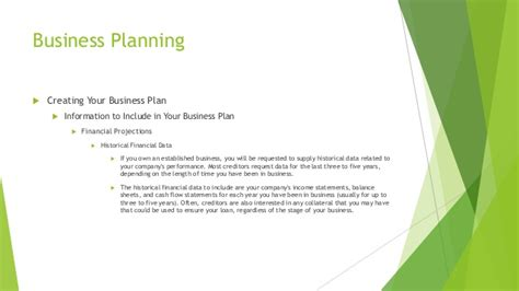 Signup Bplans Business Planning Resources And Free | financial data business plan should have