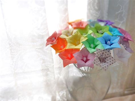 How To Make Paper Flower Centerpieces - rainbow wedding inspiration paper flowers wedding