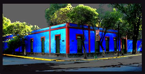 casa azul frida kahlo la silla turquesa la casa azul de frida kahlo y diego rivera