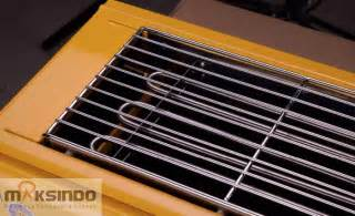 Pemanggang Sosis Listrik pemanggang bbq serbaguna listrik toko mesin maksindo