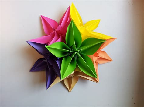 Paper Flower - paper moon paper flowers