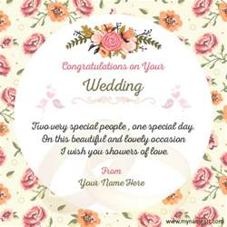 wedding greeting card messages make wedding congratulations wishes quotes card wishes