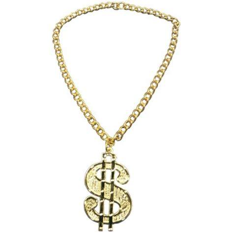 gold dollar medallion necklace 4340