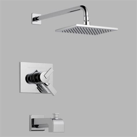 Delta Shower 1400 Series by Delta Vero T17453 Monitor 17 Series Wall Mount Tub And