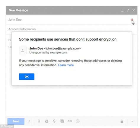 how a google headhunters e mail unraveled a massive net gmail boosts security with its padlock alert feature