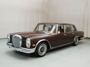 Mercedes 600 Grosser For Sale Mercedes 600 Grosser Automotive Views